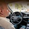 Автопилот Audi позволяет водителю смотреть телевизор