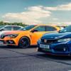Горячая волна: Renault Megane RS против Honda Civic Type R