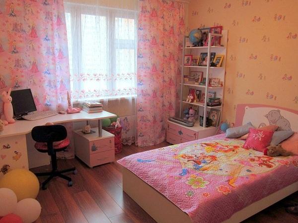комната для дівчинки