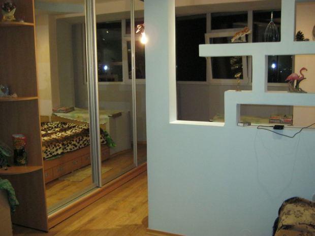 Ремонт балкона спальної і вітальні