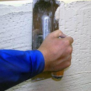 Использование теплой штукатурки для внутренних и внешних работ: советы и отзывы в фото