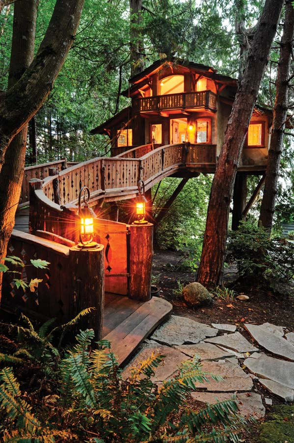 small size tree house