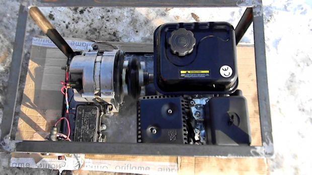 Как сделать автономный генератор своими руками