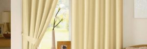Плотные шторы: вы будете спать долго! в фото
