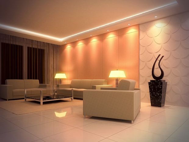 recessed-lights-in-bedroom-design-ideas-white-tray-ceiling-with-recessed-lighting-in-the-living-room