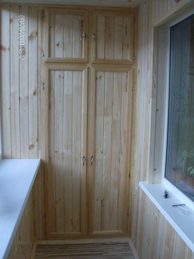 Шкаф на балкон - фото лучших вариантов дизайа.