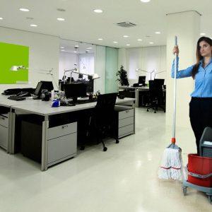 Уборка офисных помещений клининговой фирмой