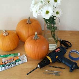 Как вырезать тыкву на Хэллоуин | Работаем с дрелью в фото