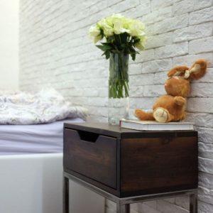 Тумбочки в спальню — 77 фото новинок стильного дизайна в современном стиле
