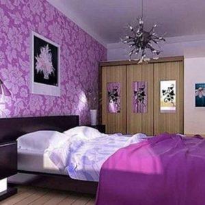 Фотообои в спальню — какие выбрать? Фото-обзор интересных решений по дизайну.
