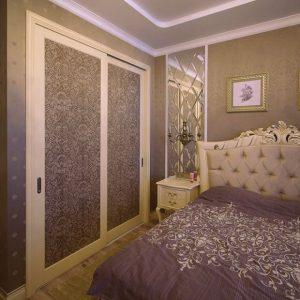 Шкафы купе в спальню — как выбрать? Фото-обзор лучших дизайнерских решений.