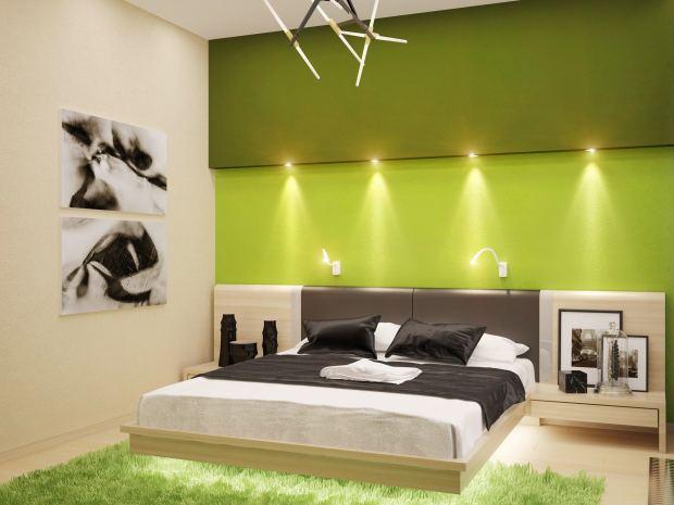 Яркая спальня (2)