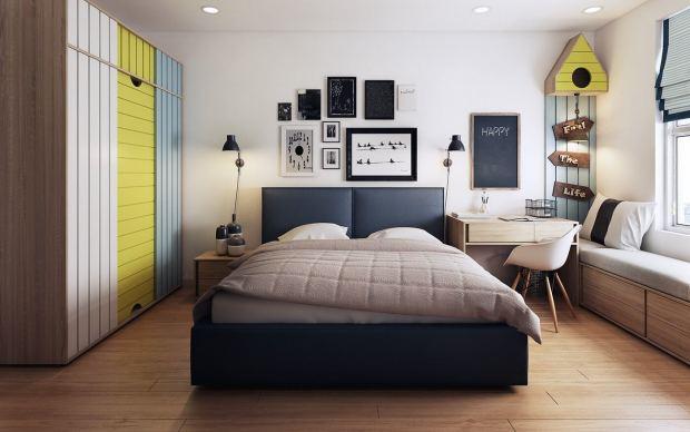 Яркая спальня (3)