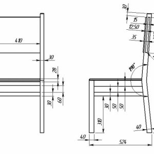 Деревянный стул: изготовление своими руками в фото
