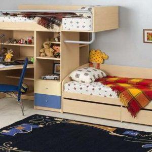 Как сделать детскую в однокомнатной квартире (23 фото) в фото