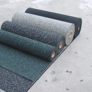 Резиновое напольное покрытие: плюсы