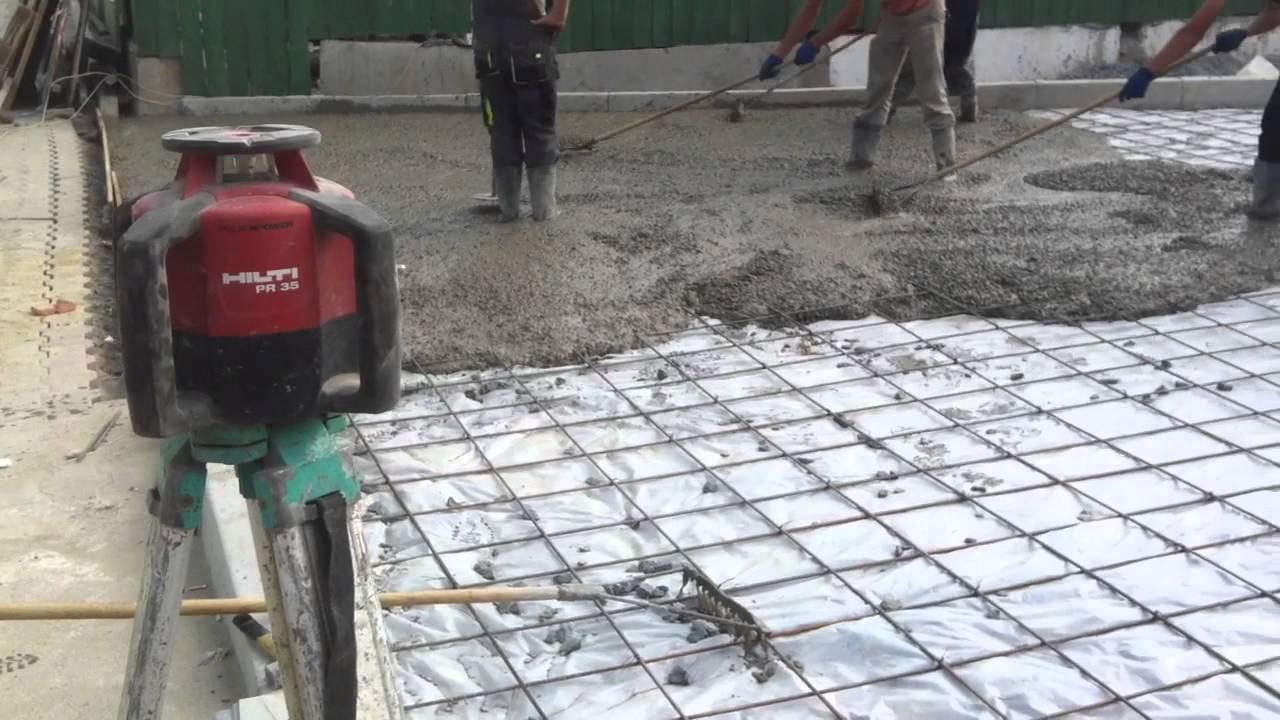 Залить ограду бетоном своими руками