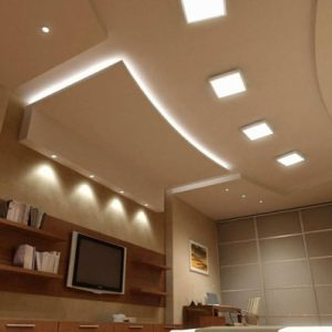 Использование светильников в интерьере помещения