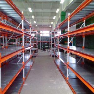 Производство стеллажей металлических