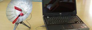 Усиление Wi-fi ресивера подручными средствами в фото