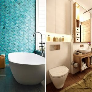 Ищем вдохновение в ванной комнате