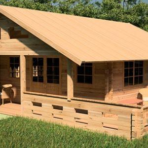 Технология строительства летнего домика