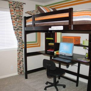 Кровать-чердак: чертежи, конструирование и обработка изделия в фото