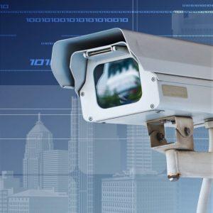 Элементы системы безопасности: камеры слежения ,шлагбаумы, сигнализации