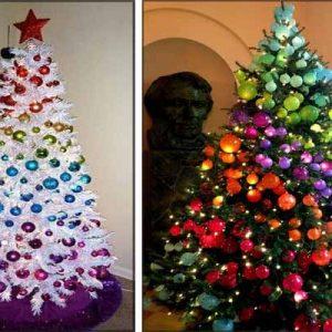 Как украсить маленькую елку на новый 2018 год