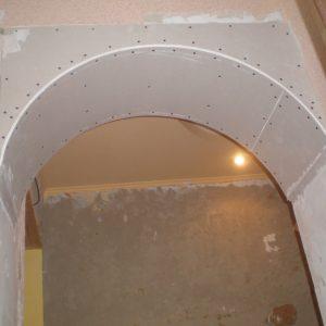 Создаем арку из гипсокартона