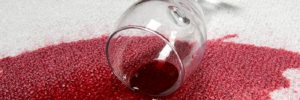 Как убрать пятно от красного вина в фото