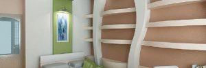 Изготовление гипсокартонных конструкций в фото