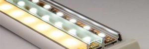 Профиль и рассеиватель для светодиодной ленты: особенности и преимущества