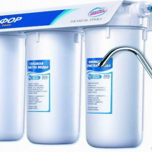 Домашние фильтры для очистки воды