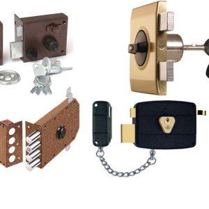 Замки, фурнитура и прочие детали металлических дверей