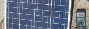Как работает солнечная батарея в фото