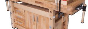 Сооружение и обустройство столярного верстака своими руками в фото