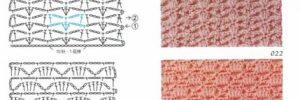 Узор «ракушки» крючком: схемы с описанием и видео в фото