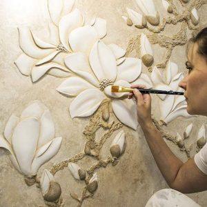 Материалы для создания барельефов. Декоративное оформление стен