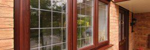 Окна, выполненные из дерева