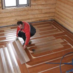 Виды отопления в деревянных домах