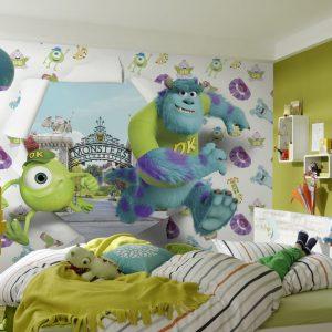 Ремонт в детской. Расписываем стены