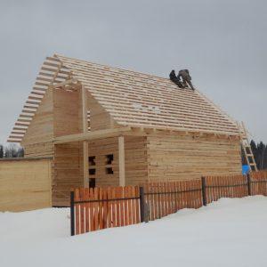Зимнее строительство домов