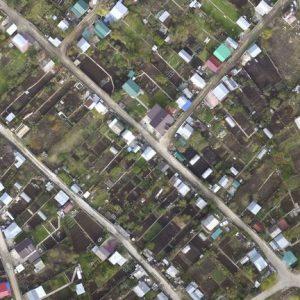 Аэрофотосъемка в геодезии и топографии