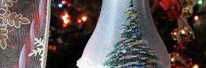Елочные игрушки своими руками — как превратить лампочку в новогоднее украшение в фото