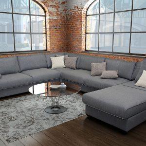 Самая модная мягкая мебель: модельный ряд диванов и кресел