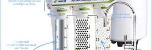 Характеристики и отзывы про фильтр обратного осмоса Ecosoft