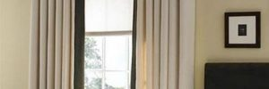 Применяем в интерьере шторы в пол в фото