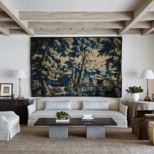 Дизайн интерьера: гобелен или картина