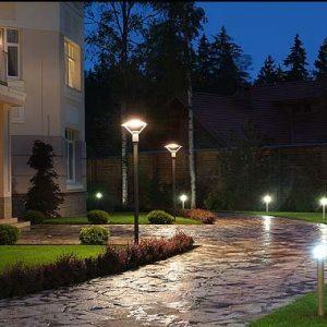 Волшебство освещения в ландшафтном дизайне